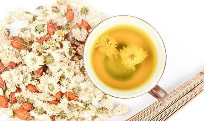 Hình ảnh trà cúc hoa
